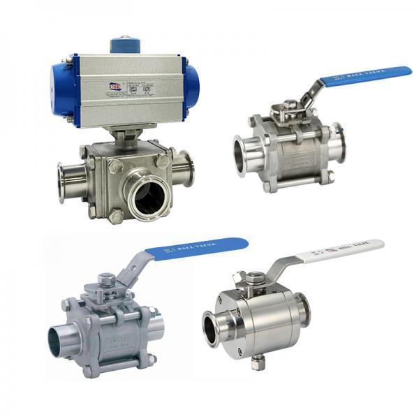 Sanitary Ball valve for food and BPE (28)