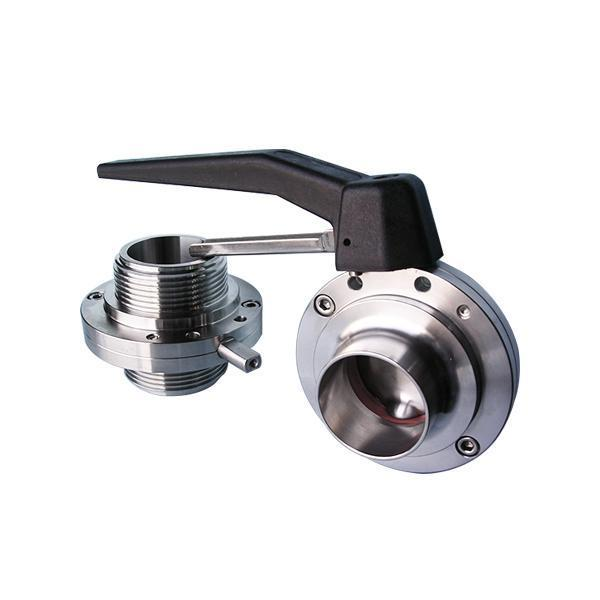 DIN Butterfly Valve - Weld end / Male end