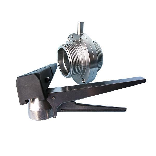 Wine Butterfly Valve  Weld End / Flang End / Male End
